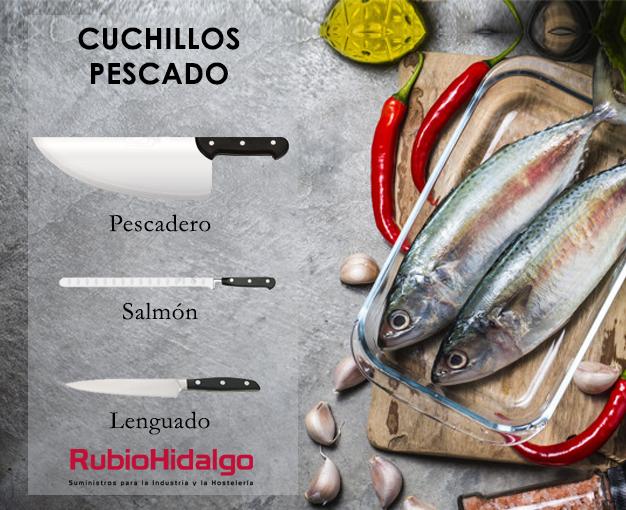 cuchillos para pescado